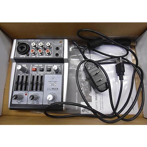 Behringer XENYX 302USB Unpowered Mixer