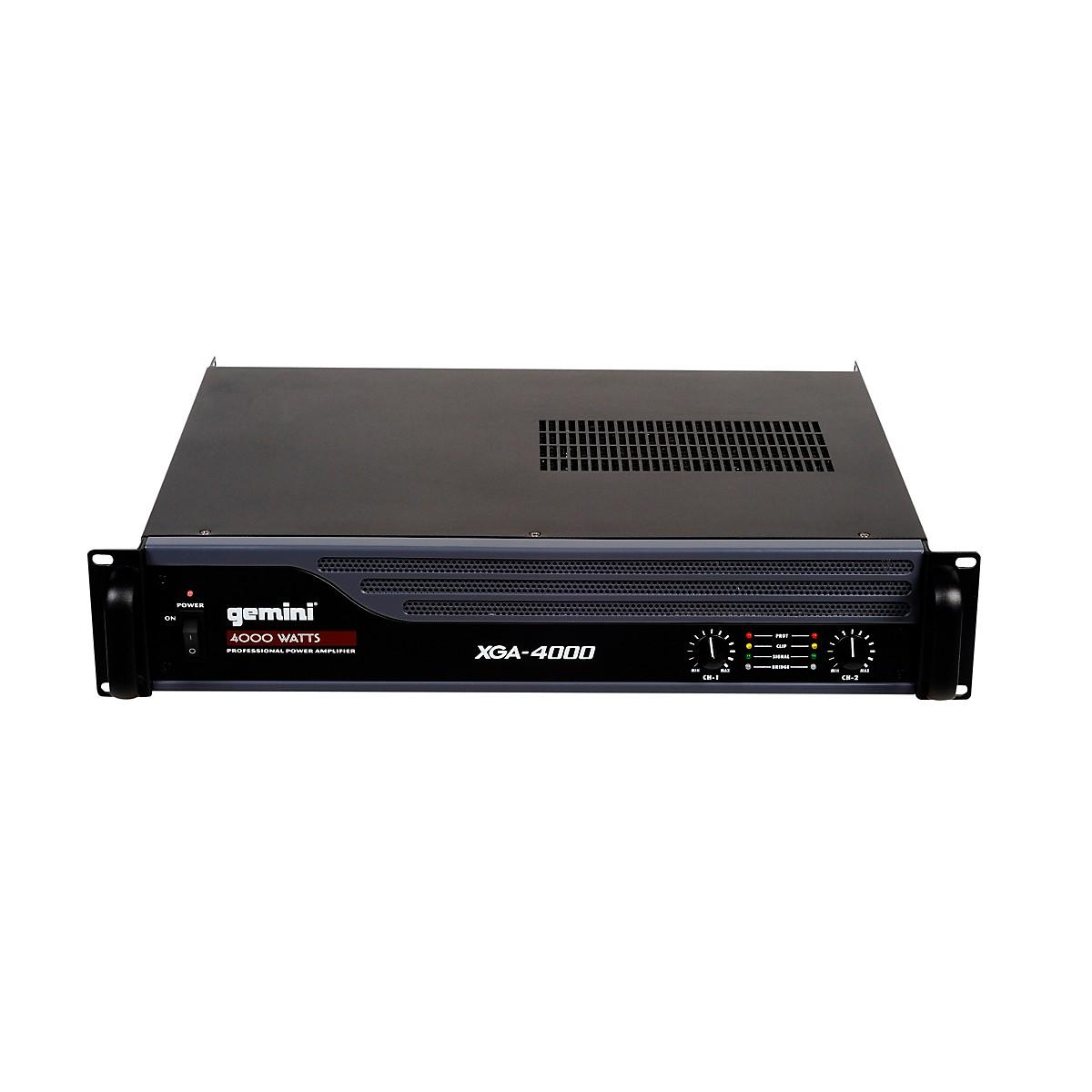 Gemini XGA-4000 Power Amplifier