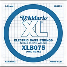 D'Addario XLB075 Extra Long Single Bass String