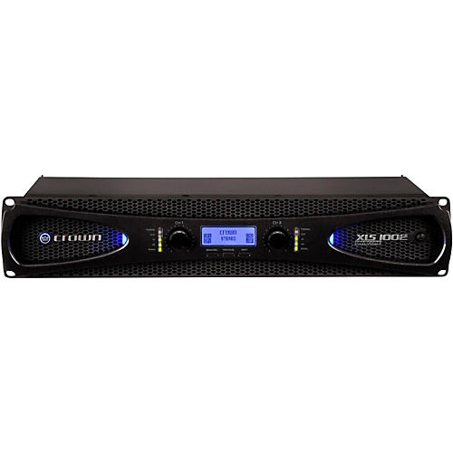 Crown XLS1002 2-Channel 350W Power Amplifier with Onboard DSP