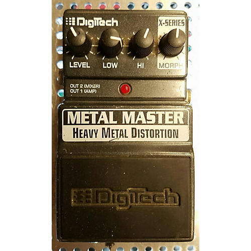DigiTech XMM Metal Master Heavy Metal Distortion Effect Pedal