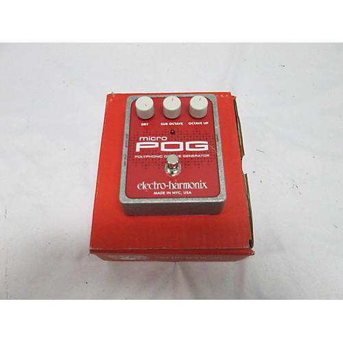 Electro-Harmonix XO Micro POG Polyphonic Octave Generator Effect Pedal