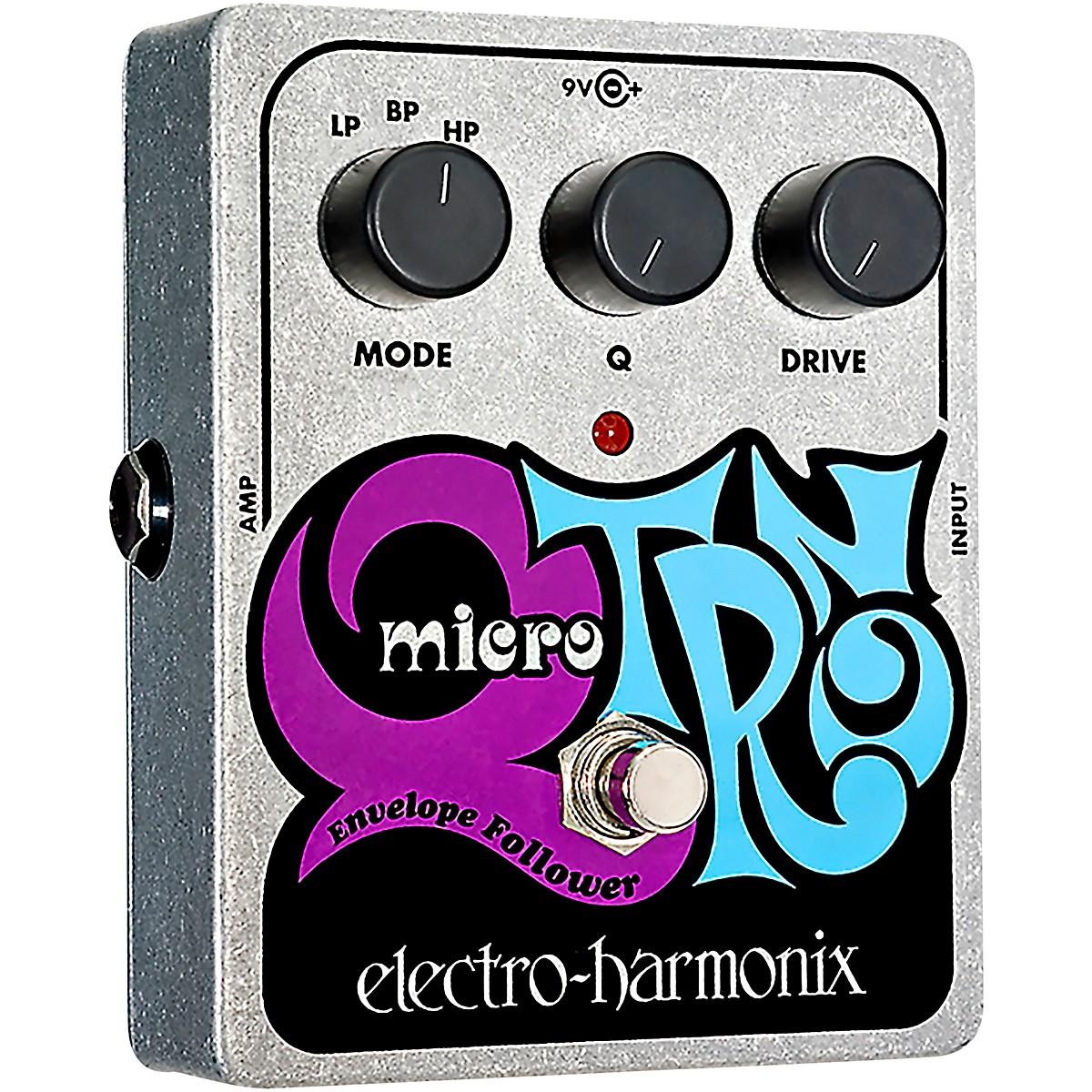 Electro-Harmonix XO Micro Q-Tron Envelope Filter Guitar Effects Pedal