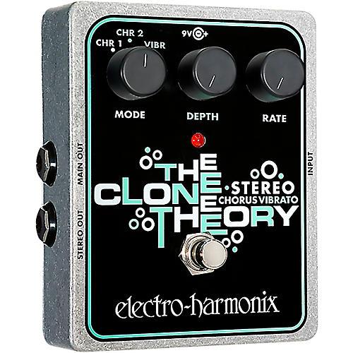 Electro-Harmonix XO Stereo Clone Theory Analog Chorus / Vibrato Guitar Effects Pedal