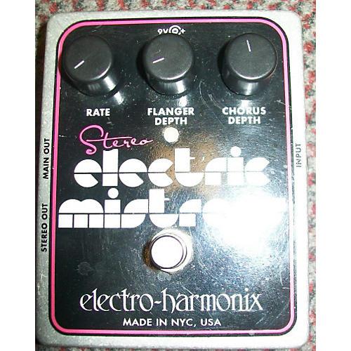 Electro-Harmonix XO Stereo Electric Mistress Flanger / Chorus Effect Pedal