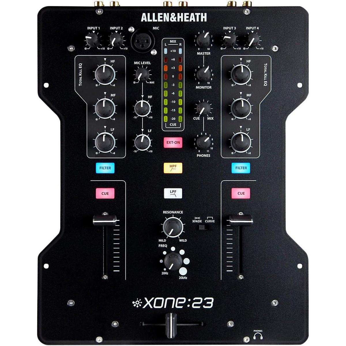 Allen & Heath XONE:23 2-Channel DJ Mixer