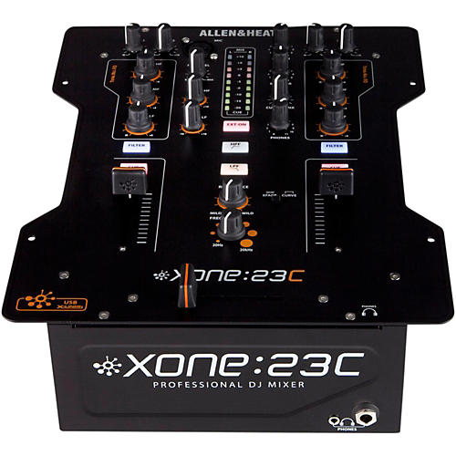 Allen & Heath XONE:23C 2-Channel DJ Mixer with Soundcard