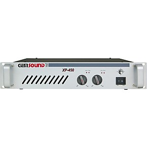 Gem Sound XP-450 Stereo Power Amp
