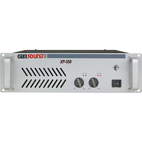 Gem Sound XP-550 Stereo Power Amp