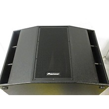 Pioneer XPRS215S Powered Subwoofer