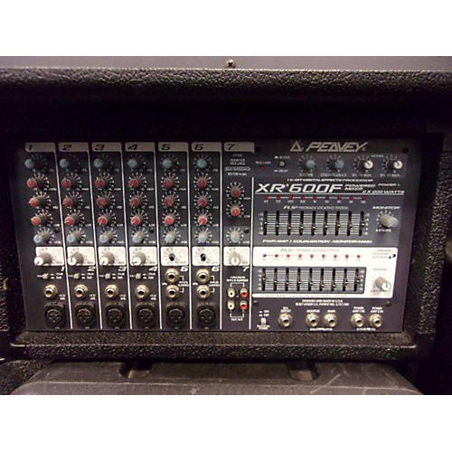 Peavey XR600F Powered Mixer