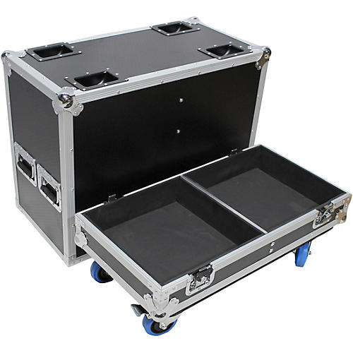 ProX XS-2X15-SPW Flight Case for Two 15