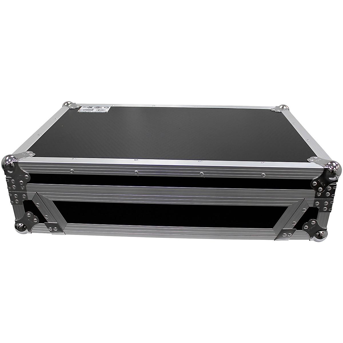 ProX XS-DDJ1000WBL Black ATA Flight Case for Pioneer DDJ-1000 DJ Controller