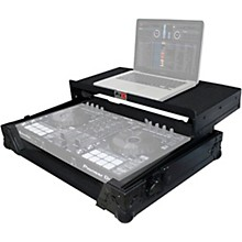 ProX XS-DDJSRLTBL Black ATA Style Flight Road Case with Glide Laptop Shelf for DDJ-SR and DDJ-RR Controller