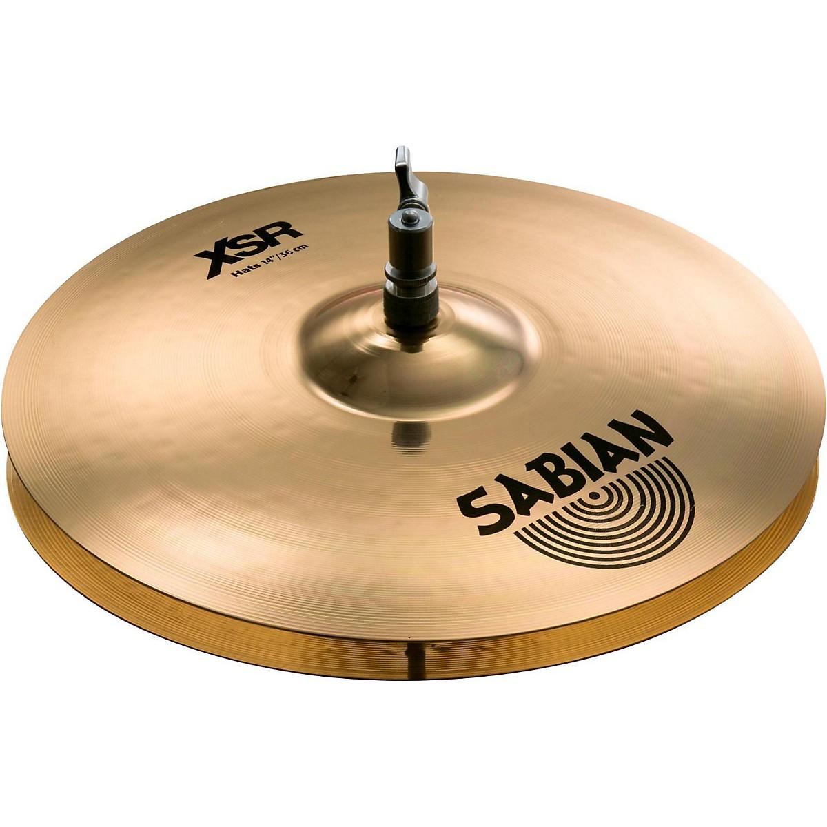 Sabian XSR Series Hi-Hats