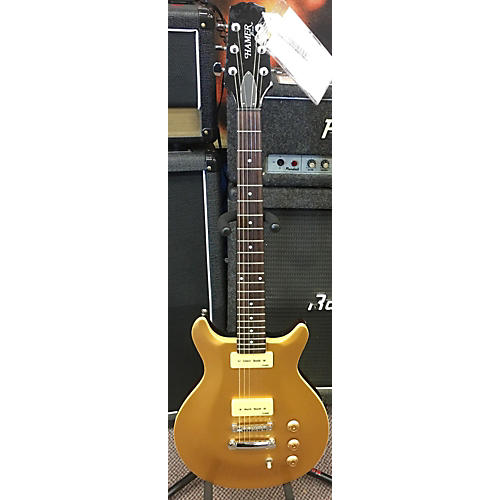 Hamer XT SERIES GOLD TOP Solid Body Electric Guitar