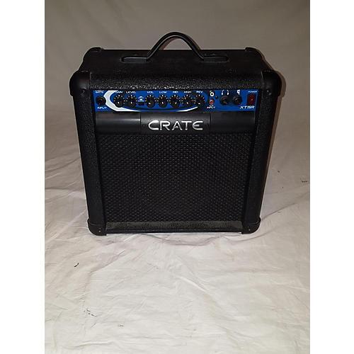 used crate xt15r guitar combo amp guitar center. Black Bedroom Furniture Sets. Home Design Ideas
