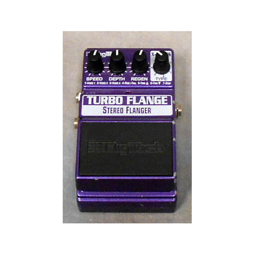 Digitech XTF Turbo Flange Effect Pedal