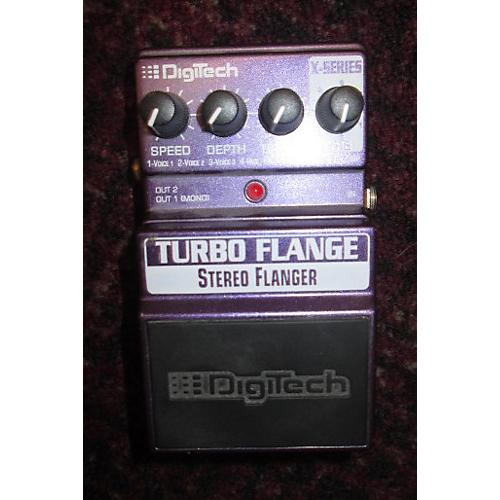Digitech XTF Turbo Flange Effect Pedal