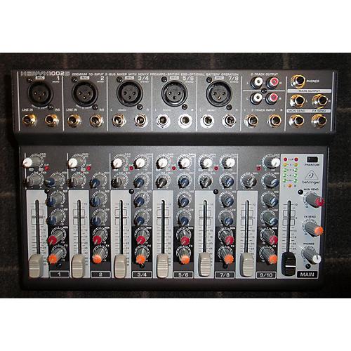 Behringer Xenyx 1002B 5-Channel Unpowered Mixer
