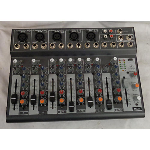 Behringer Xenyx 1002B 5-Channel Unpowered Mixer