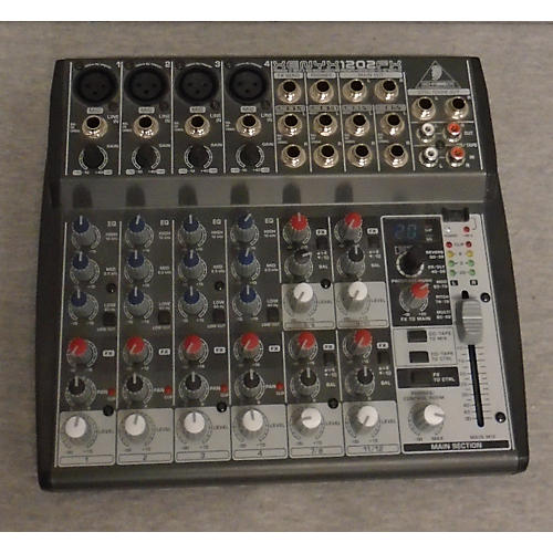 used behringer xenyx 1202fx unpowered mixer guitar center. Black Bedroom Furniture Sets. Home Design Ideas