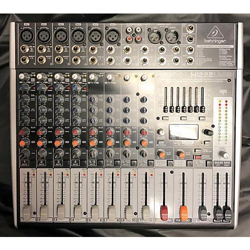 Behringer Xenyx 1222USB Digital Mixer
