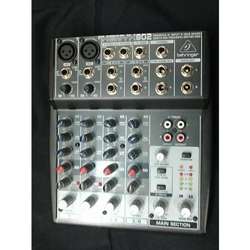 Behringer Xenyx 802 Unpowered Mixer