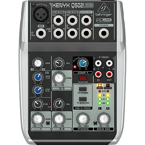 Behringer Xenyx Q502USB Mixer