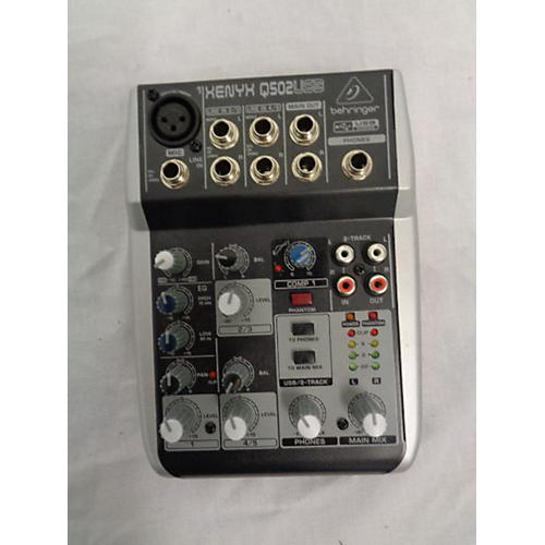 Behringer Xenyx Q502USB Unpowered Mixer