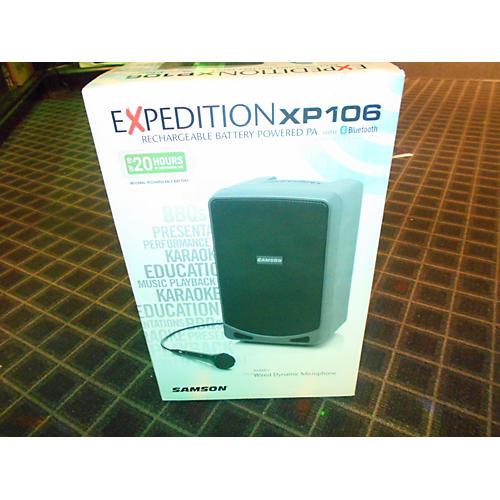 Samson Xp106 Powered Speaker