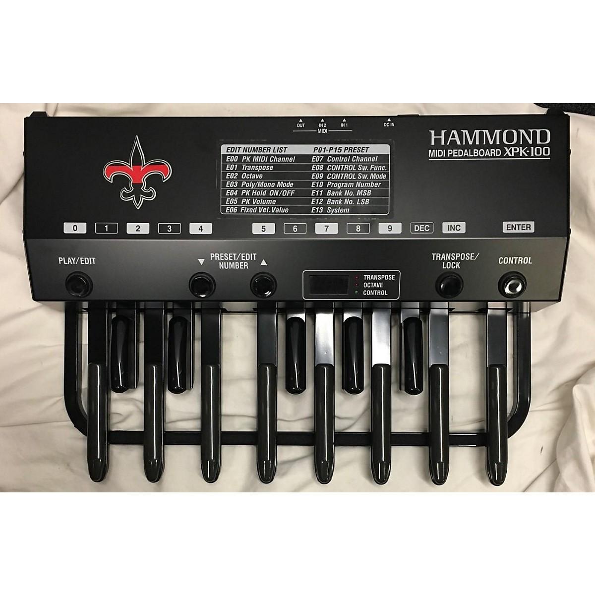 Hammond Xpk100 MIDI Foot Controller
