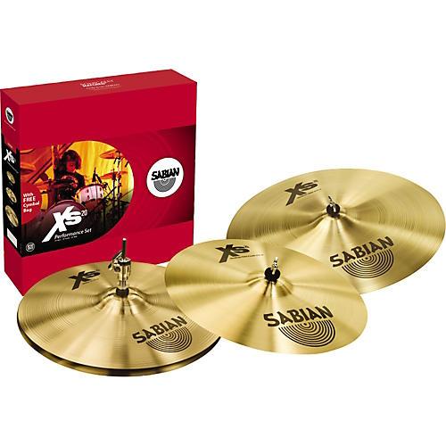 Sabian Xs20 Performance Cymbal Pack Brilliant
