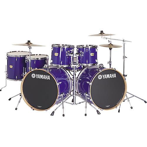 yamaha yd series 7 piece double bass drum set guitar center. Black Bedroom Furniture Sets. Home Design Ideas