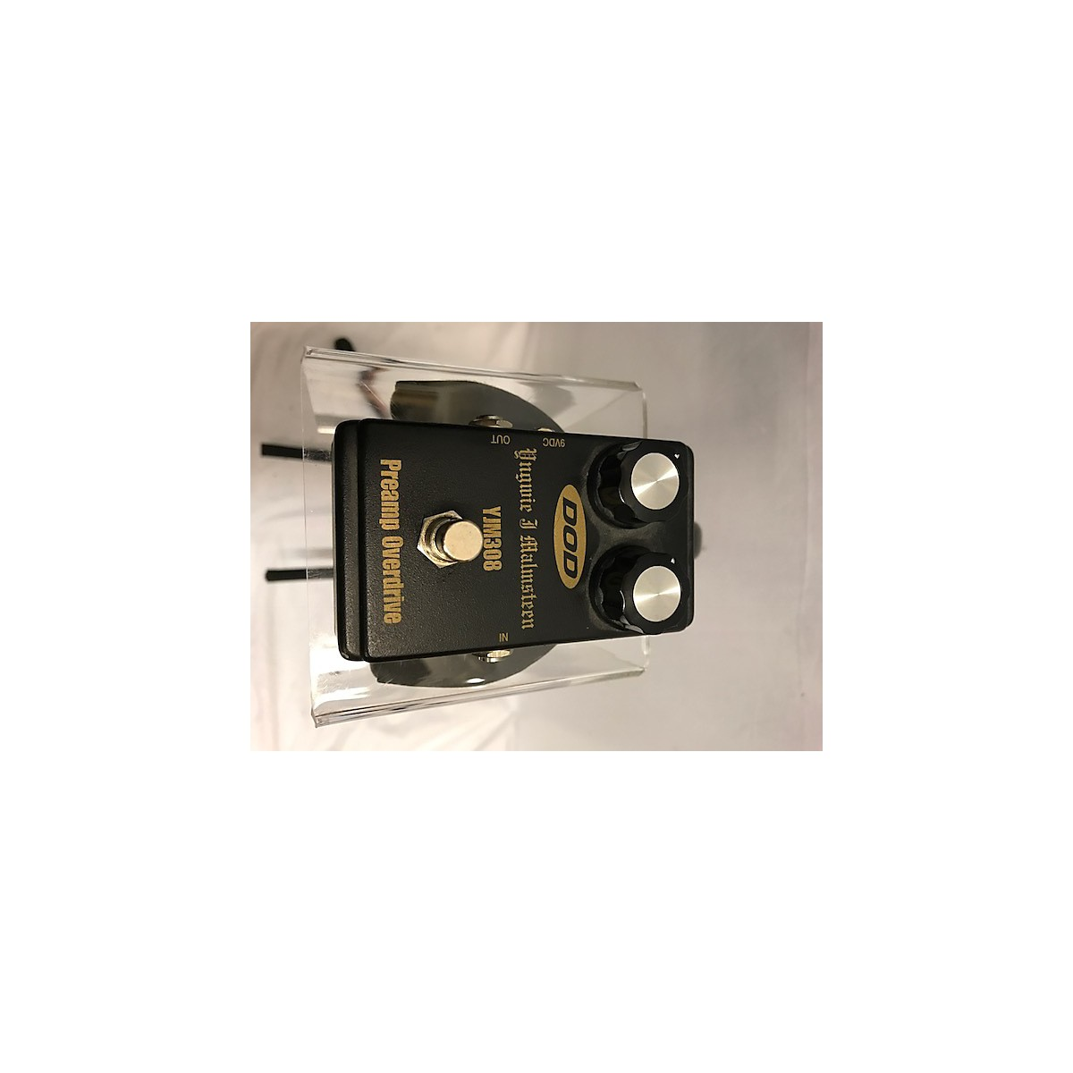 Used Dod Yjm308 Yngwie J Malmsteen Overdrive Effect Pedal