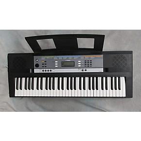 used yamaha ypt 240 61 key portable keyboard guitar center. Black Bedroom Furniture Sets. Home Design Ideas