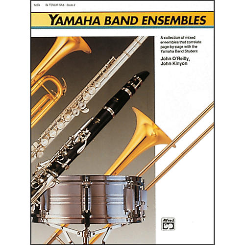 Alfred Yamaha Band Ensembles Book 2 Piano Acc./Conductor's Score