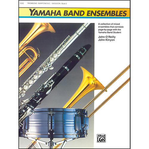 Alfred Yamaha Band Ensembles Book 2 Trombone Baritone B.C. Bassoon