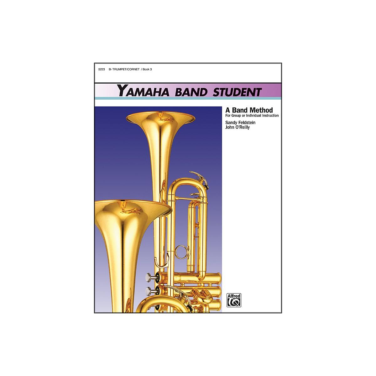 Alfred Yamaha Band Student Book 3 B-Flat Trumpet/Cornet