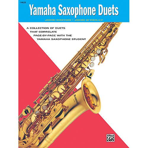 Alfred Yamaha E-Flat Alto Saxophone Duets Book