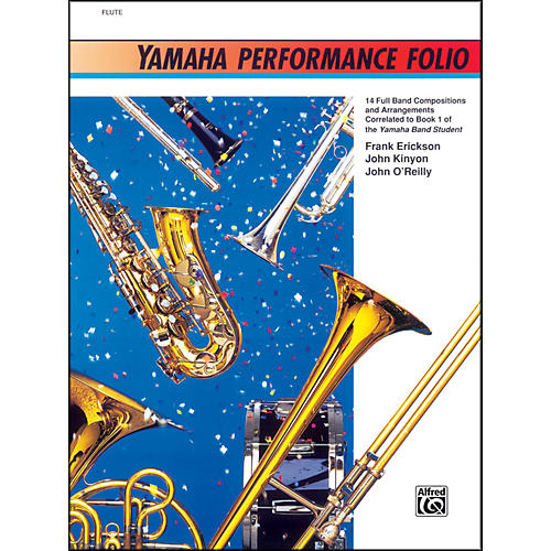 Alfred Yamaha Performance Folio Percussion