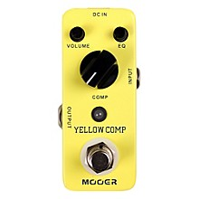 Mooer Yellow Comp Optical Compressor Guitar Effects Pedal