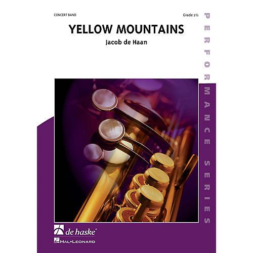 De Haske Music Yellow Mountains Concert Band Composed by Jan de Haan