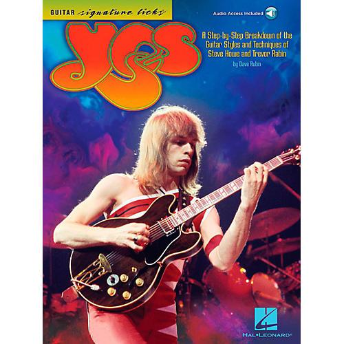 Hal Leonard Yes - Guitar Signature Licks Book/Audio Online