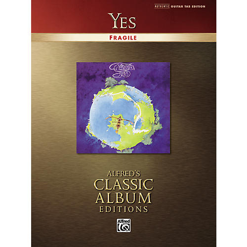 Alfred Yes Fragile Classic Album Edition Guitar Tab (Book)