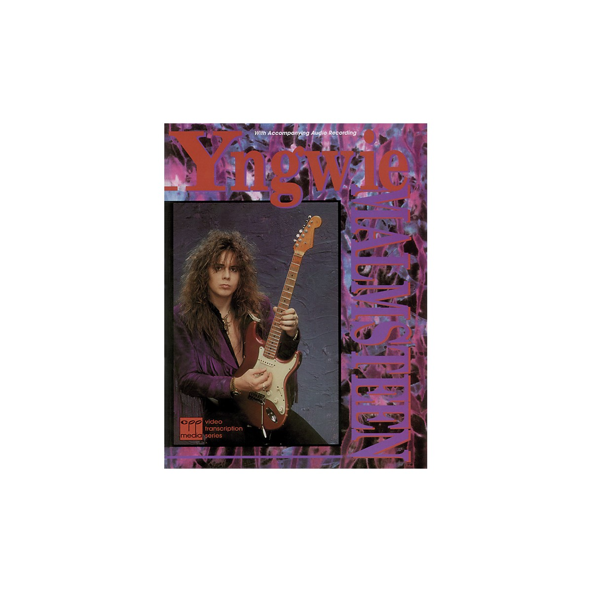 Alfred Yngwie Malmsteen Book with CD