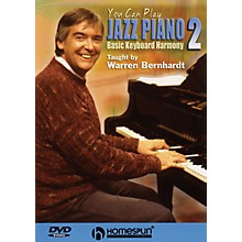 Homespun You Can Play Jazz Piano (DVD Two: Basic Keyboard Harmony) Homespun Tapes Series DVD by Warren Bernhardt