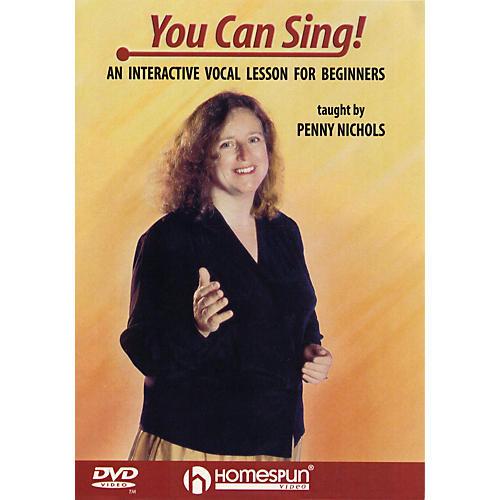 Homespun You Can Sing Homespun Tapes Series DVD Written by Penny Nichols
