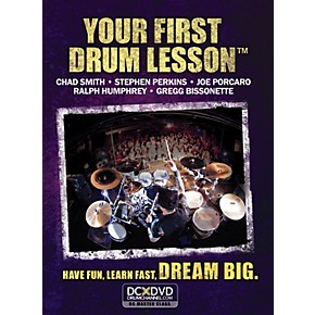 the drum channel your first drum lesson dvd guitar center. Black Bedroom Furniture Sets. Home Design Ideas