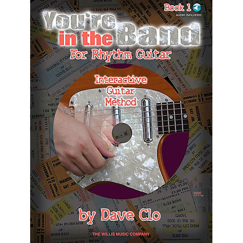 Willis Music You're In The Band - Interactive Guitar Method Rhythm Guitar Book 1 Book/CD